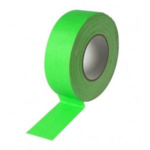 nuovo-gaffa-tape-professionale-fluorescente-in-tessuto-disponibile-in-rotoli-da-50mm-di-larghezza-per-50mt-di-lunghezza-verde-fl